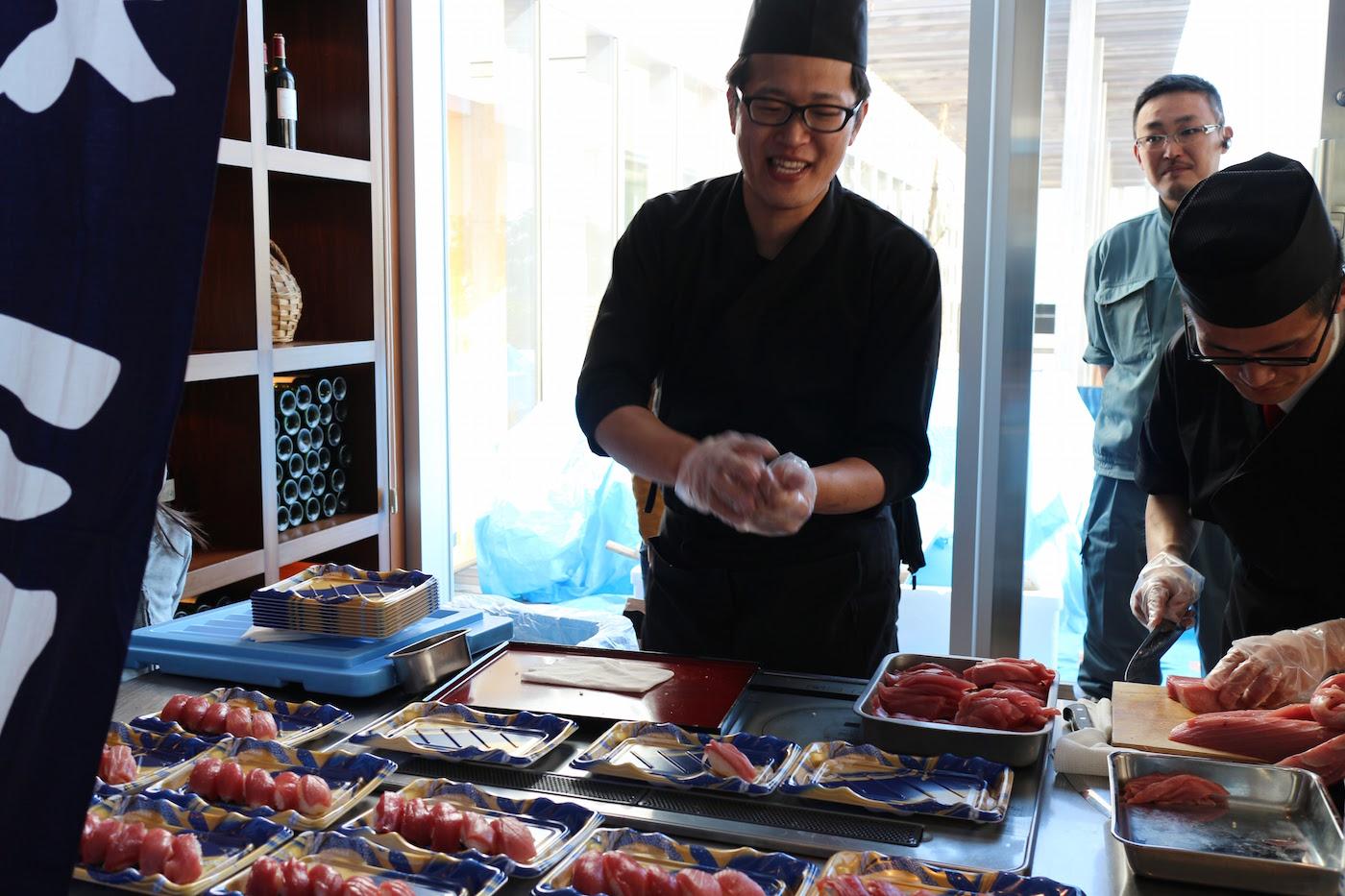 ブリリアマーレ 寿司祭り